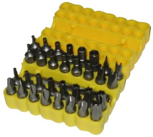 Toolzone 33pc Security Bit Screwdriver Set